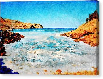 Cala San Vicente In Majorca Canvas Print