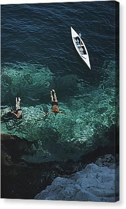 Capri Holiday Canvas Print