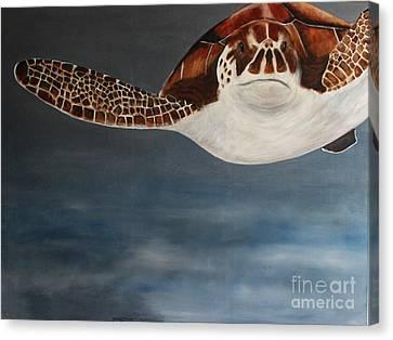 Ocean Flight Canvas Print