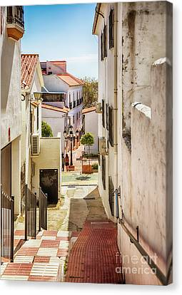 Canvas Print featuring the photograph spring season, Spain by Ariadna De Raadt