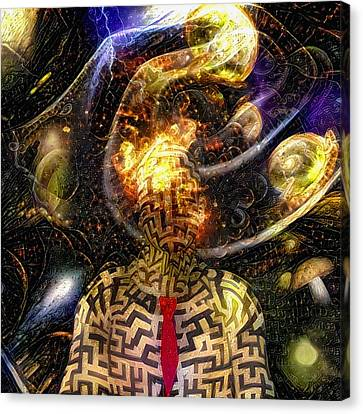 Time Mystery Canvas Print