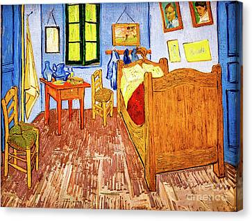 Van Gogh's Bedroom Canvas Print