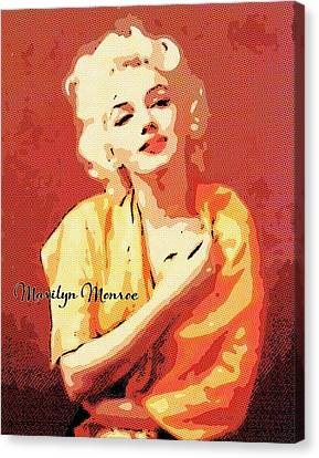 Marilyn Monroe Famous #6 Poster Canvas Print Art Decor Wall