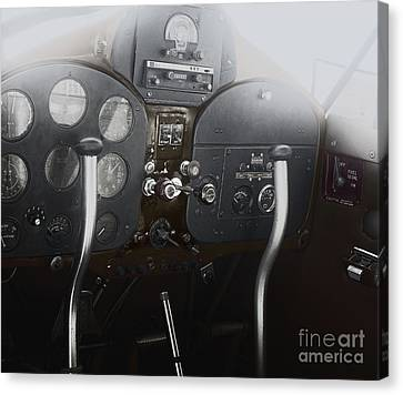 1946 Fairchild 24 Canvas Print by Steven Digman