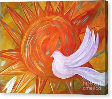 Healing Wings Canvas Print