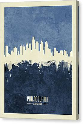 Philadelphia Skyline Canvas Prints Fine Art America
