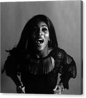 Tina Turner Canvas Print by Jack Robinson
