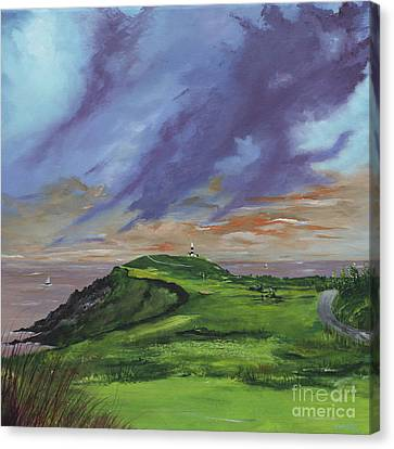 4th Hole Kinsale Golf Links Canvas Print