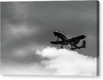 A-10 Slow Pass Canvas Print