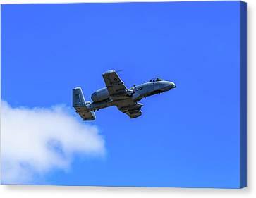A-10c Thunderbolt II In Flight Canvas Print