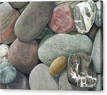 A Congregation Of Stones Canvas Print
