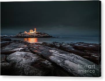 A Dusting At Dusk Canvas Print
