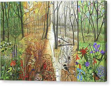 A Path For All Seasons Canvas Print