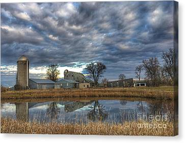 Abandoned Reflections Canvas Print