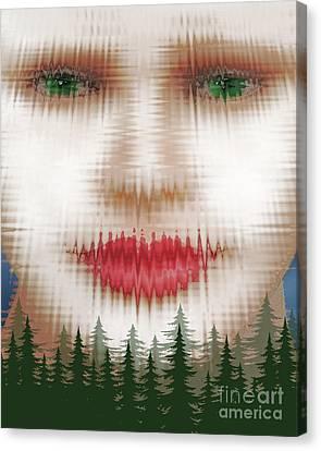 Abnoba, Goddess Of The Forest Canvas Print