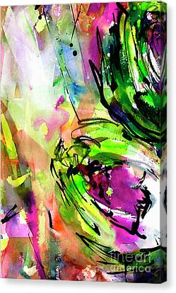 Abstract Arti 3 By Ginette Canvas Print