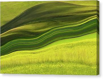 Abstract Landscape Canvas Print by Edoardogobattoni.net