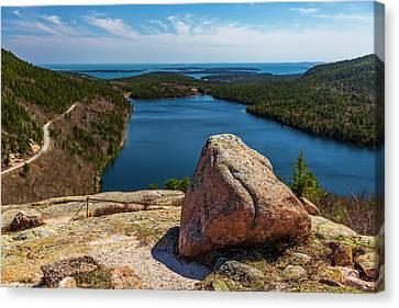 Acadia Np - Peaceful Vista Canvas Print