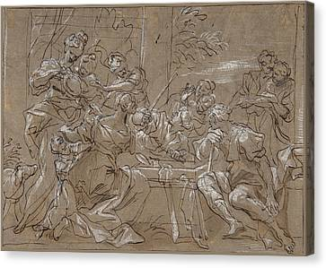 Pietro Testa Reproduction Fine Art Print Achilles dragging the body of Hector