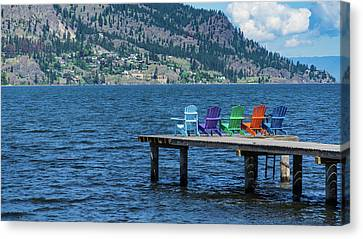 Adirondack Dock Canvas Print