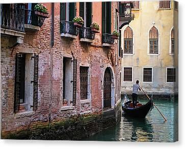 Afternoon Gondola Ride Canvas Print