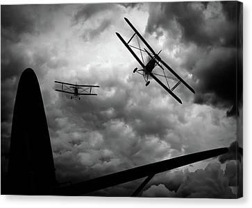 Air Pursuit Canvas Print