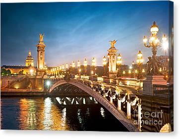 Pont Alexandre Iii Canvas Prints Fine Art America