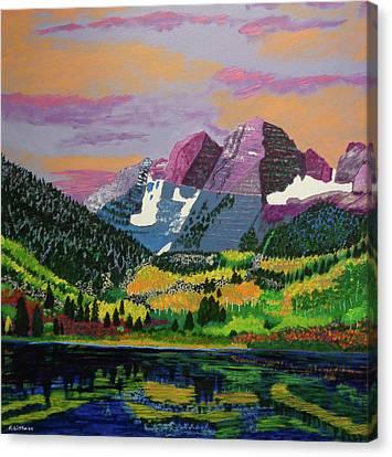 Alpine Reflections Canvas Print