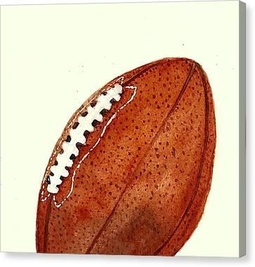 Nfl American Football Ball Painting Canvas Print