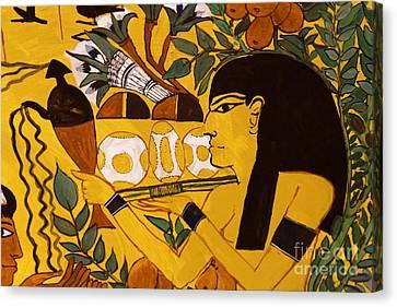 Ancient Egypt Man Canvas Print