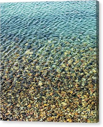 Aqua Reflections Canvas Print