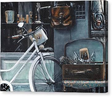 Bagging A Bargain Canvas Print