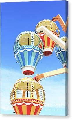 Balloon Race Ride Moreys Piers Wildwood New Jersey Usa 2 Canvas Print