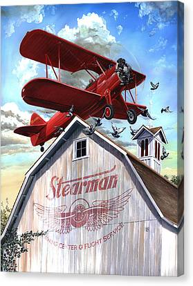 Barn Stormer - Customizeable Canvas Print