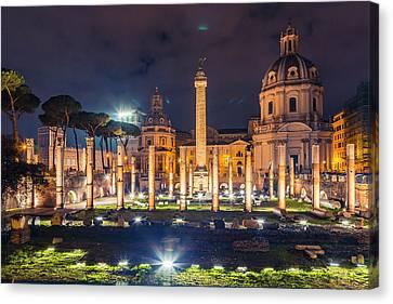 Basilica Ulpia Canvas Print