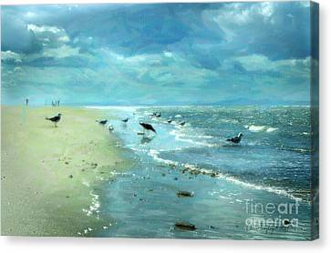 Beach Blues IIi Canvas Print