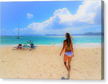 Beach Day Canvas Print