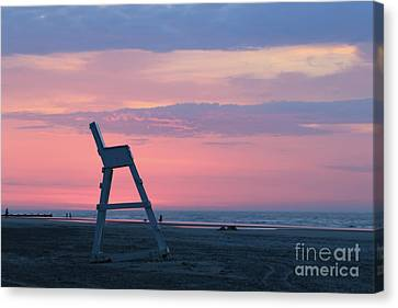 Beach Guardian Canvas Print