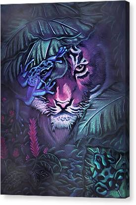 Beautiful And Dangerous Canvas Print