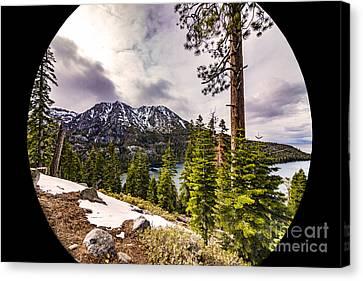Beautiful Lake Tahoe Canvas Print