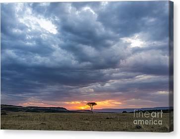 CANVAS Mount Kenya Art print POSTER