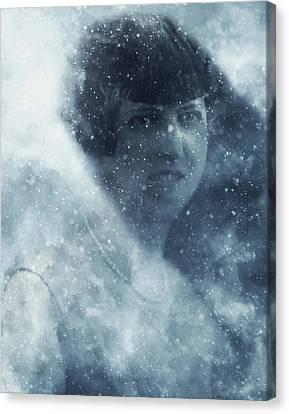 Beauty In The Snow Canvas Print