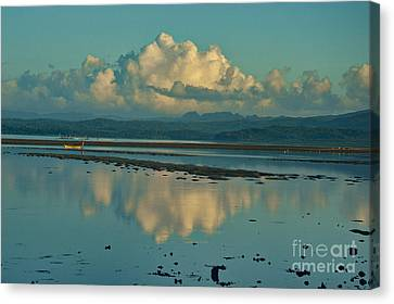 Blue Kensho Morning Canvas Print