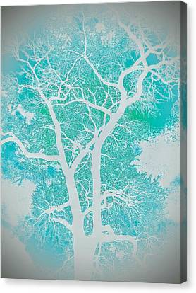 Branches Of Watercolor Canvas Print