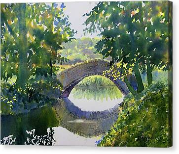Bridge Over Gypsy Race Canvas Print