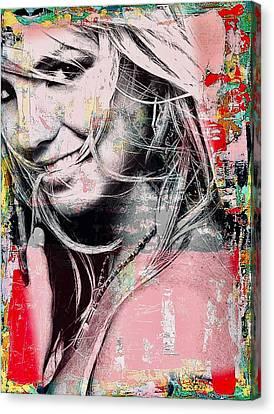 Britney Baby Canvas Print