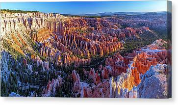 Bryce Canyon Np - Sunrise On Another World Canvas Print