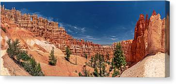 Bryce Canyon Np - Walls, Windows And Hoodoos, Oh My Canvas Print