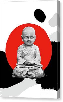 Buddha Modern Art Canvas Print