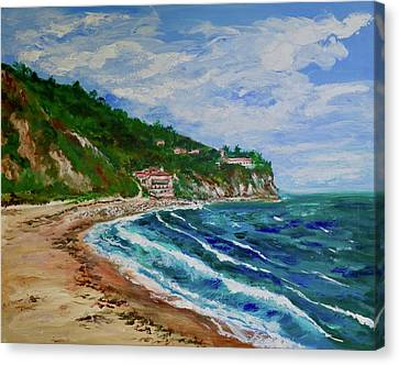 Burnout Beach, Redondo Beach California Canvas Print